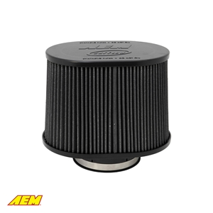 AEM DryFlow Oval Tapered Air Filters