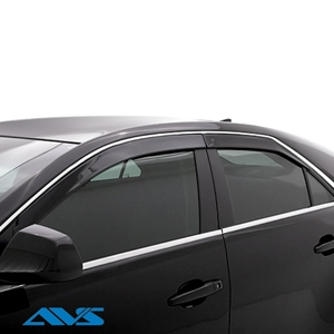 AVS Low Profile with Chrome Trim Ventvisors