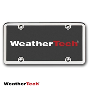 WeatherTech License Plate Frame - StainlessFrame