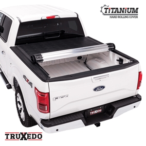 TruXedo Hard Roll Up Truck Bed Tonneau Cover - Titanium
