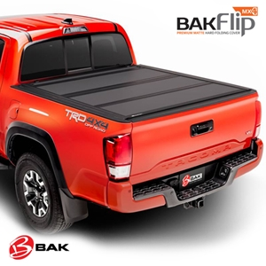 BAK Hard Folding Truck Bed Tonneau Cover - BAKFlip MX4