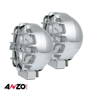 "Anzo®  6"" HID OFF ROAD LIGHTS CHROME w/ LENS PROTECTOR"
