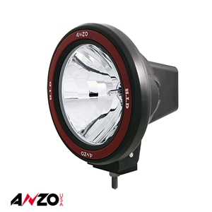 "Anzo® 70W 7"" HID OFF-ROAD LIGHT w/ ANZO REMOVABLE BEZEL"