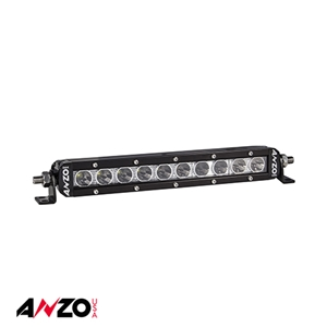 "Anzo® 10"" RUGGED HI-INTENSITY 5W SINGLE ROW L.E.D OFF ROAD LIGHT"