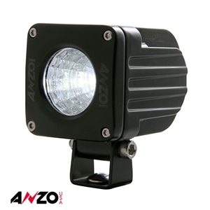 "Anzo® 2"" X 2"" RUGGED 10W L.E.D SPOT BEAM LIGHT"