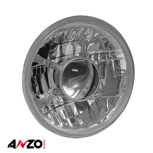 "Anzo® H4 7"" ROUND PROJECTOR HEADLIGHT (EACH)"
