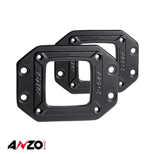 Anzo® Rugged Off-Road 3x3 Flush Mount Flange