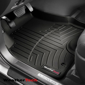 WeatherTech® DigitalFit™ 443351 - 1st Row Black Floor Mats Liners