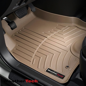 WeatherTech® DigitalFit™ 453351 - 1st Row Tan Floor Mats Liners