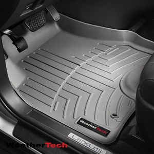 WeatherTech® DigitalFit™ 463351 - 1st Row Grey Floor Mats Liners