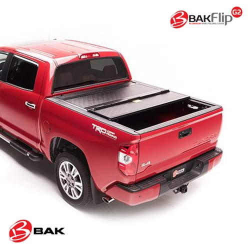 BAK Hard Folding Truck Bed Tonneau Cover - BAKFlip G2