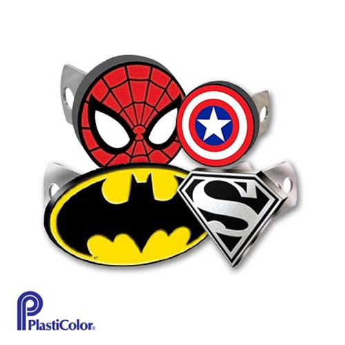Hitch Cover With Super Hero Logo