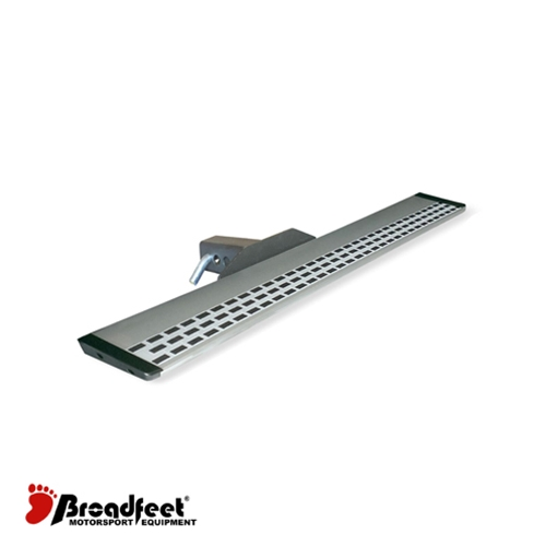 Broadfeet® R88 Hitch Steps Aluminum / Silver Piano Style