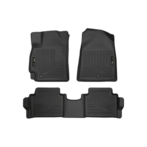 Husky Liners Weatherbeater Floor Mats All Weather Blk Fit